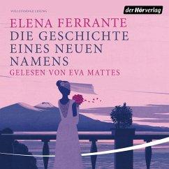 Die Geschichte eines neuen Namens / Neapolitanische Saga Bd.2 (MP3-Download) - Ferrante, Elena