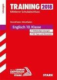 Training Mittlerer Schulabschluss NRW 2018 - Englisch Lösungen