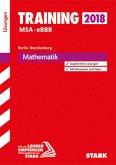 Training Mittlerer Schulabschluss Berlin/Brandenburg 2018 MSA/eBBR - Mathematik Lösungen