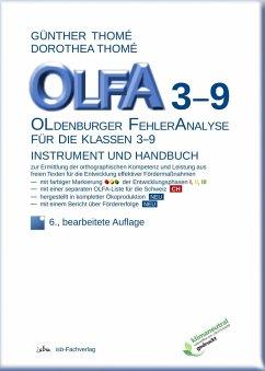 OLFA 3-9: Oldenburger Fehleranalyse für die Klassen 3-9 - Thomé, Günther; Thomé, Dorothea