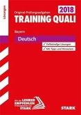 Training Quali Bayern 2018 - Deutsch Lösungsheft
