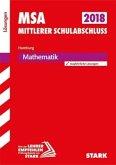 Mittlerer Schulabschluss Hamburg 2018 - Mathematik Lösungen
