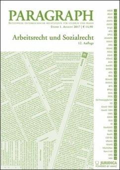 Arbeits- und Sozialrecht (ArbR und SozR) (f. Ös...
