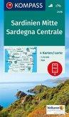 Kompass Karte Sardinien Mitte, Sardegna Centrale, 4 Bl.