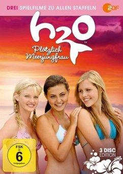 H2O - Plötzlich Meerjungfrau - Die Spielfilme zur Staffel 1, 2 & 3 - Heine,Cariba/Tonkin,Phoebe/Holt,Claire/+