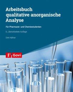 Arbeitsbuch qualitative anorganische Analyse - Häfner, Dirk