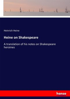 9783337214104 - Heine, Heinrich: Heine on Shakespeare - Livre