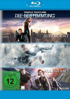 Die Bestimmung - Divergent, Insurgent, Allegiant Bluray Box - Woodley,Shailene/James,Theo