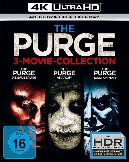 The Purge 3 Movie Collection 4k Ultra Hd Blu Ray Auf Ultra Hd