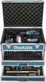 Makita DF457DWEX6 2x1,3 Ah + 102 tlg Zub. + Koffer