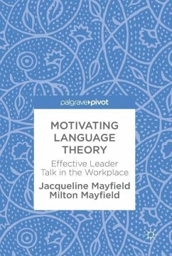 Motivating Language Theory - Mayfield, Jacqueline; Mayfield, Milton