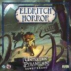Asmodee FFGD1011 - Eldritch Horror, Unter den Pyramiden, Strategiespiel, Erweiterung