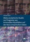 Meta-analytische Studie zur Prognose von kriminellen Rückfällen auf der Basis empirischer Daten (eBook, PDF)