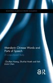 Mandarin Chinese Words and Parts of Speech (eBook, PDF)