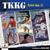Ein Fall für TKKG - Krimi-Box 21, 3 Audio-CDs