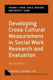Developing Cross-Cultural Measurement in Social Work Research and Evaluation (eBook, PDF)