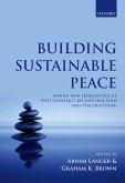 Building Sustainable Peace (eBook, PDF)