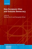How Europeans View and Evaluate Democracy (eBook, PDF)