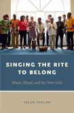 Singing the Rite to Belong (eBook, PDF)