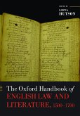 The Oxford Handbook of English Law and Literature, 1500-1700 (eBook, PDF)