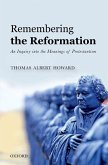 Remembering the Reformation (eBook, PDF)