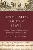 University, Court, and Slave (eBook, PDF)