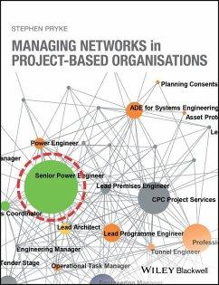Managing Networks in Project-Based Organisations (eBook, ePUB) - Pryke, Stephen