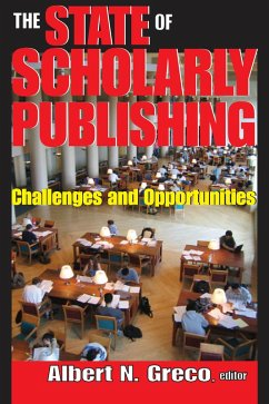 The State of Scholarly Publishing (eBook, PDF)