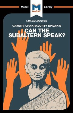 Can the Subaltern Speak? (eBook, ePUB)