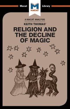 An Analysis of Keith Thomas's Religion and the Decline of Magic (eBook, ePUB)