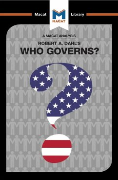 An Analysis of Robert A. Dahl's Who Governs? Democracy and Power in an American City (eBook, ePUB)