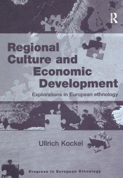 Regional Culture and Economic Development (eBook, ePUB)