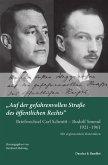 »Auf der gefahrenvollen Straße des öffentlichen Rechts«. (eBook, PDF)