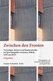 Zwischen den Fronten. (eBook, PDF)