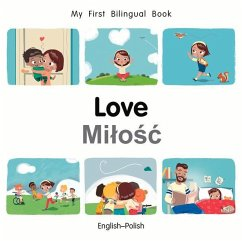 My First Bilingual Book-Love (English-Polish)