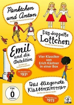 Vier Klassiker von Erich Kästner in einer Box (...