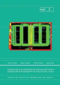Kodikologie und Paläographie im Digitalen Zeitalter 4 (eBook, ePUB)