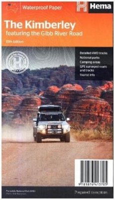 Hema Maps The Kimberley featuring the Gibb River Road