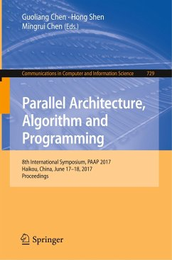 Parallel Architecture, Algorithm and Programming