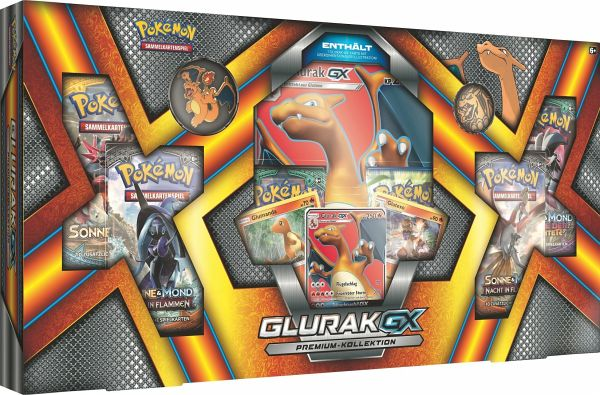 Pokemon (Sammelkartenspiel), Glurak-GX Premium Kollektion