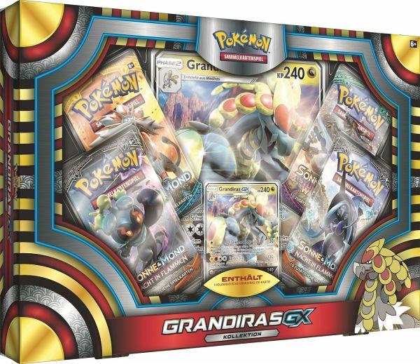 Pokemon (Sammelkartenspiel), Grandiras-GX Box DE
