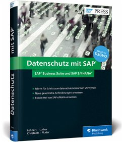 Datenschutz mit SAP - Lehnert, Volker; Luther, Iwona; Christoph, Björn; Pluder, Carsten