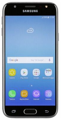 Samsung Galaxy J3 Duos (2017) black