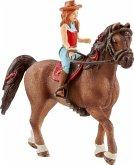 Schleich 42411 - Horse Club, Hannah & Cayenne