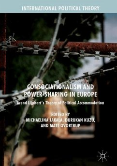 Consociationalism and Power-Sharing in Europe