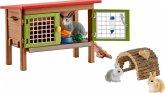 Schleich 42420 - Farm World, Kaninchenstall, Tiere