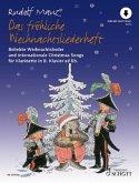 Das fröhliche Weihnachtsliederheft, Klarinette und Klavier ad lib., m. Audio-CD