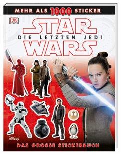 Star Wars(TM) Die letzten Jedi. Das große Stickerbuch