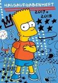 Simpsons Hausaufgabenheft 2017/2018
