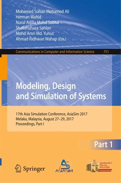 9789811064623 - Herausgegeben von Mohamed Ali, Mohamed Sultan; Wahid, Herman; Mohd Subha, Nurul Adilla; Sahlan, Shaf: Modeling, Design and Simulation of Systems - Book